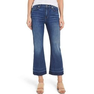 7 For All Mankind Cropped Classic Flare Ali Jean